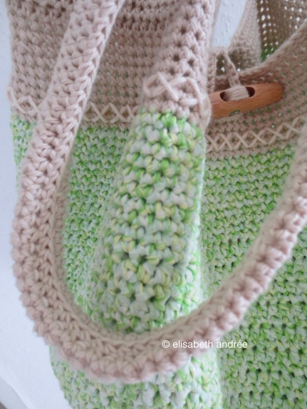 spring bag close up