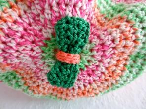 crochet bag for Sophie bow on bottom