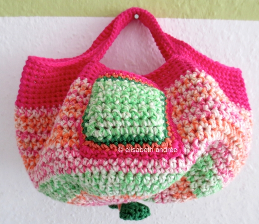 crochet bag for Sophie front