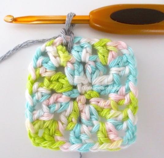 attach the yarn