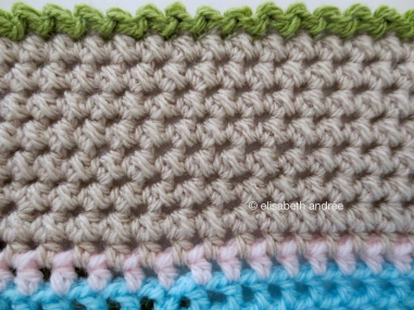 lacy with dots edge