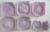 variegated blocks pinkish lilac-like