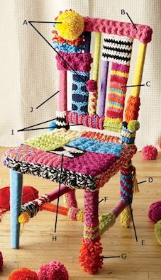 YarnBombing Chair LionBrand.html