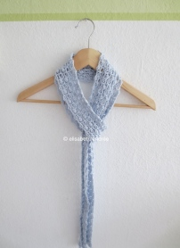 lacy summer scarf by elisabeth andrée