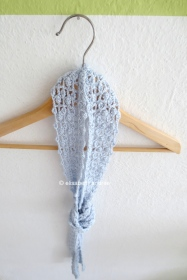 lacy summer scarf on hanger