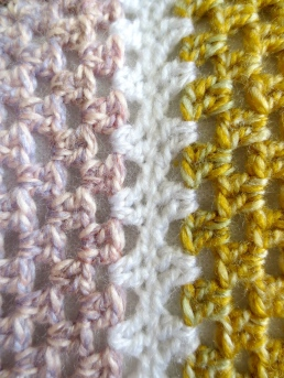 mustard yellow cushion cover seam detail