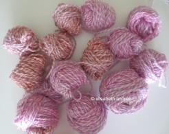 variegated small balls