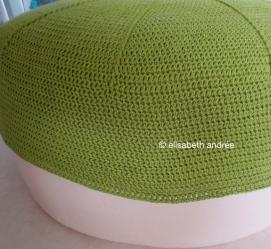 wip green pouf