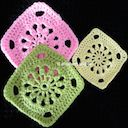 another crochet square