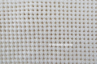 work in progress crochet stitches