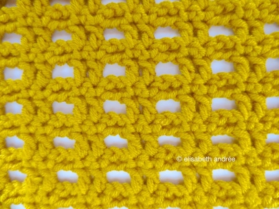 crochet stitch pattern back