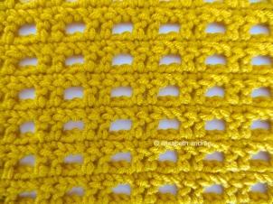 crochet stitch pattern front
