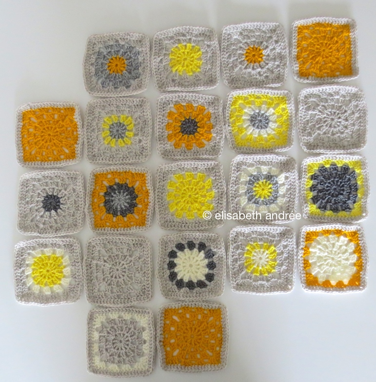 wip yellows and grays blocks by elisabeth andrée
