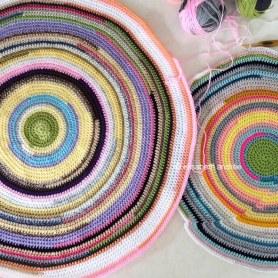 work in progress the crochet nutty pillow