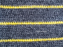 close up crochet work with scheepjes stonewashed XL