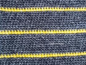 close up crochet work with scheepjes stonewashed XL
