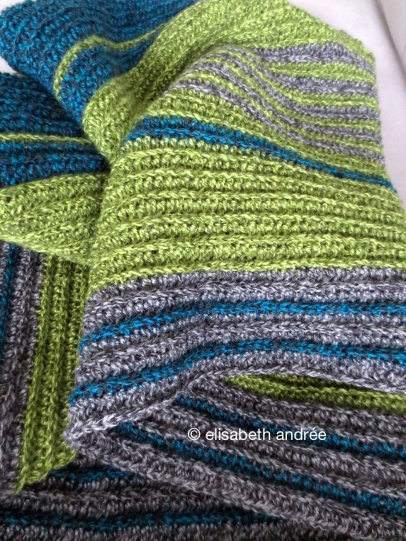 crochet blanket to be by elisabeth andrée
