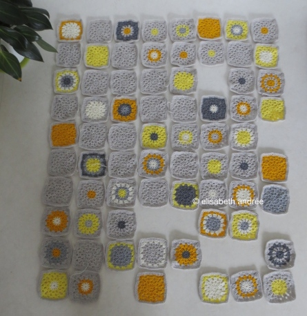 work in progress yellow and gray hues
