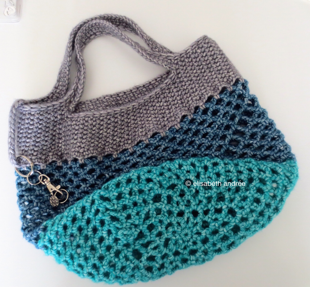 Crochet Mesh Bag Pattern : small crochet mesh shopper elisabeth andrEe