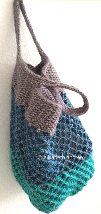 crochet small mesh shopper by elisabeth andrée