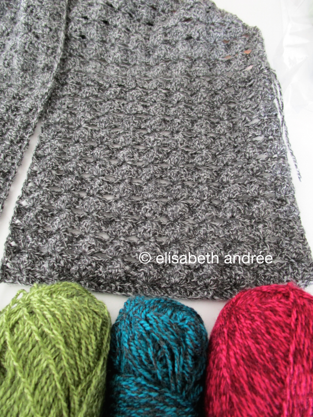wip charcoal cowl/scarf optinal colors