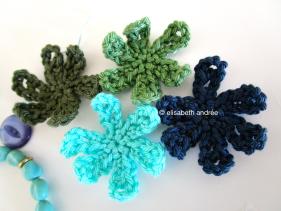 crochet flower motifs by elisabeth andrée