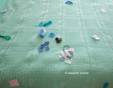 opaline crochet blanket in the works