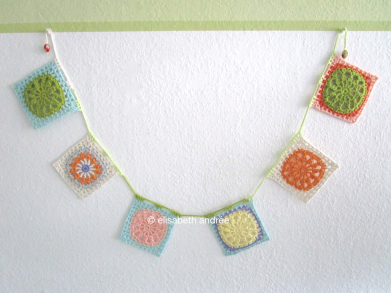 another square bunting by elisabeth andrée