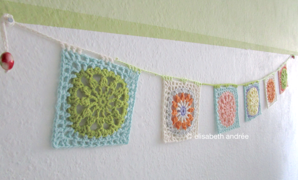 crochet another square bunting by elisabeth andrée