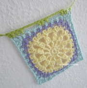 crochet another square yellow