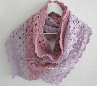 crochet stole scarf by elisabeth andrée