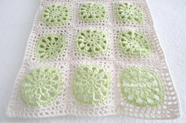 close up crochet project by elisabeth andrée