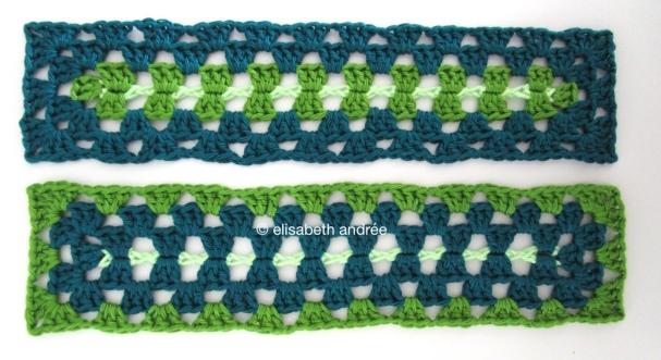 rectangular crochet squares by elisabeth andrée