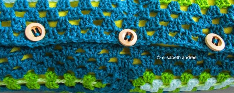 rectangular grannies cushion cover buttons