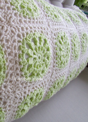 elongated cushion cover close up by elisabeth andrée